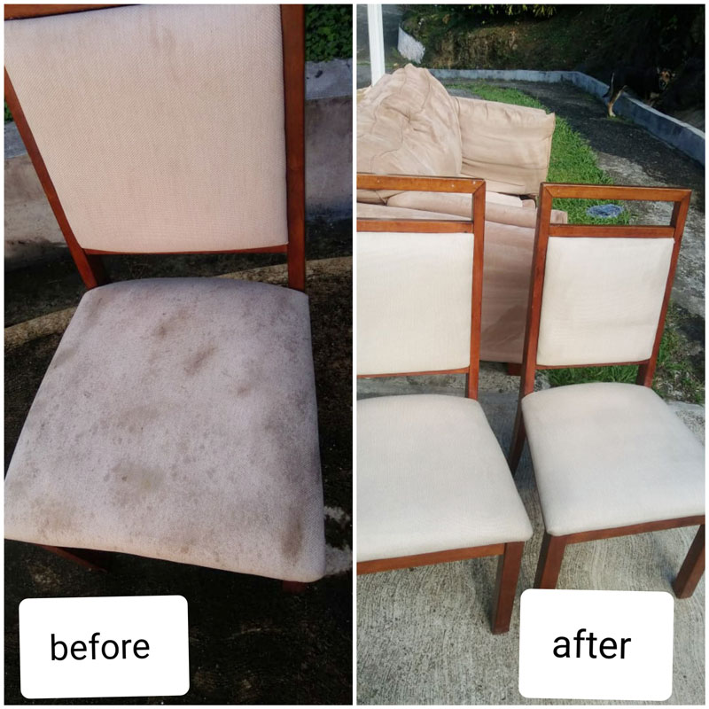 upholstery cleaing
